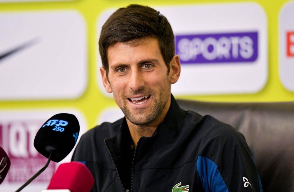 Djokovic: tennis peaks võrkpallist eeskuju võtma