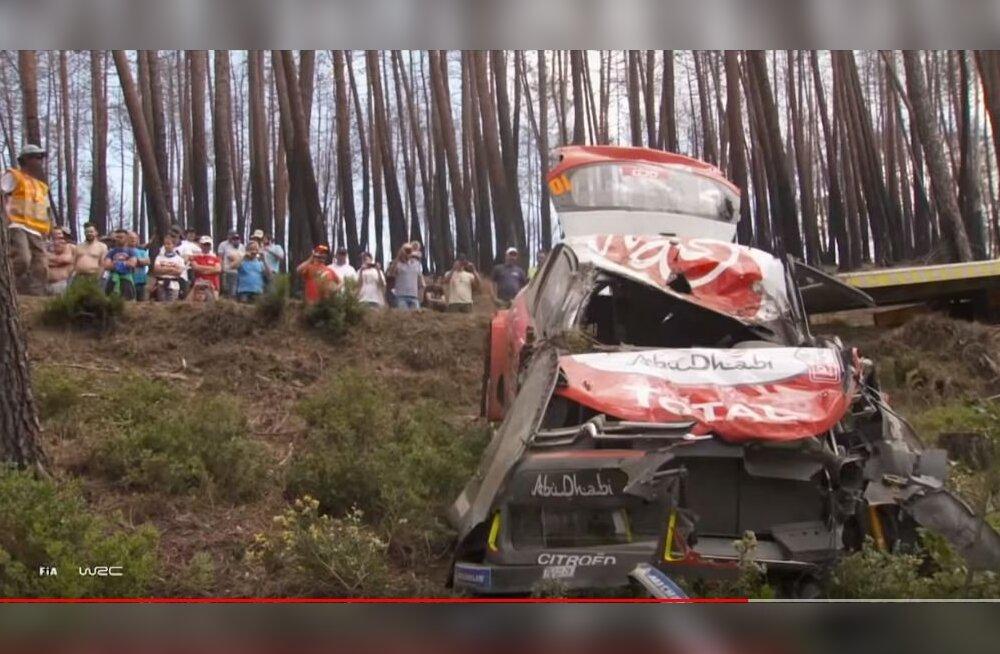 VIDEO | Meenuta lõppenud WRC hooaja karmimaid väljasõite