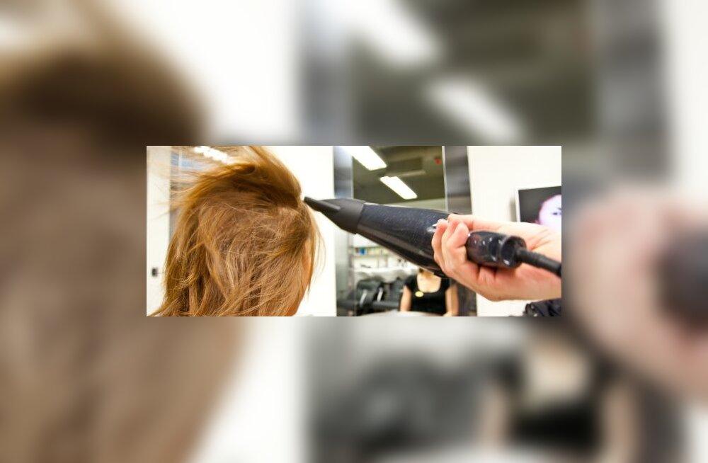 FOTOD: Juukseid värvinud naisel läks pea paiste