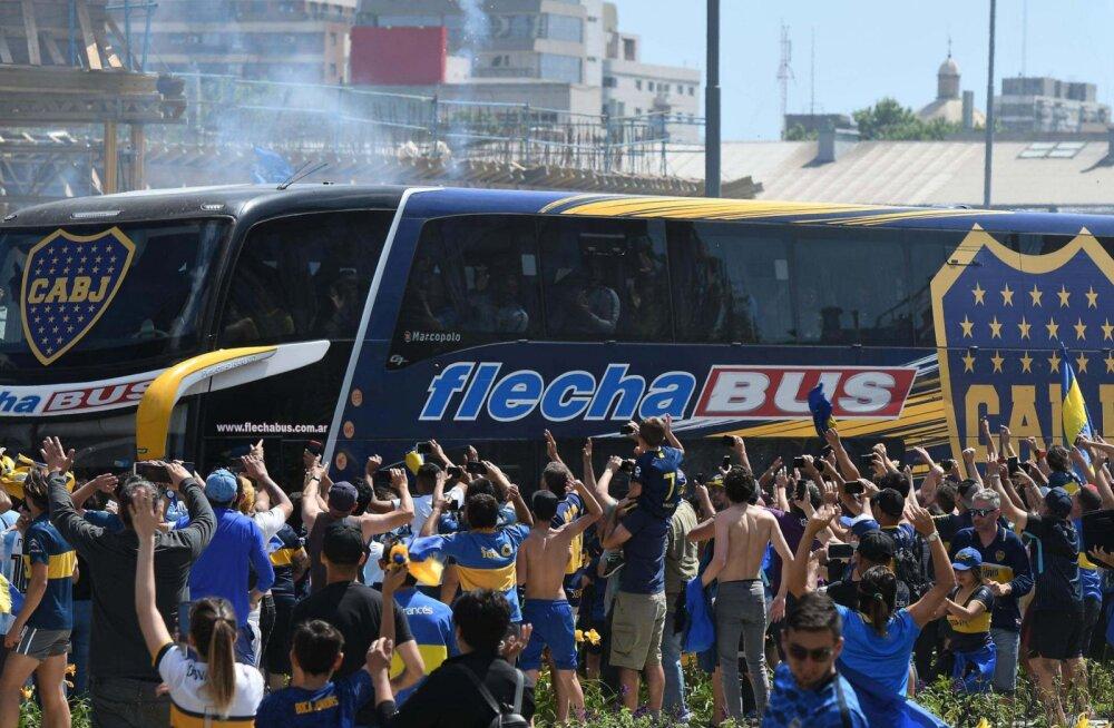 Boca Juniors ähvardab suure finaali Madridi viinud ametnikke arbitraažkohtuga