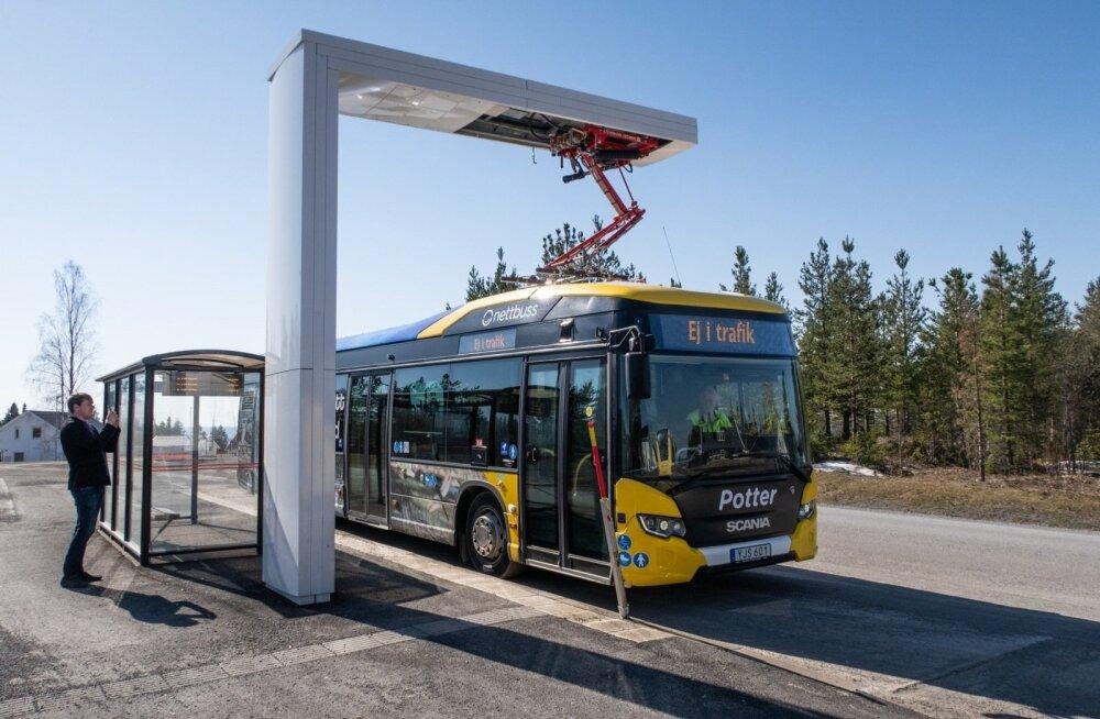 Среди своих соседей Эстония — аутсайдер в сфере электротранспорта