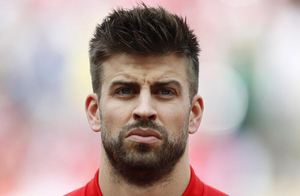 Gerard Pique enam Hispaania jalgpallikoondist ei esinda