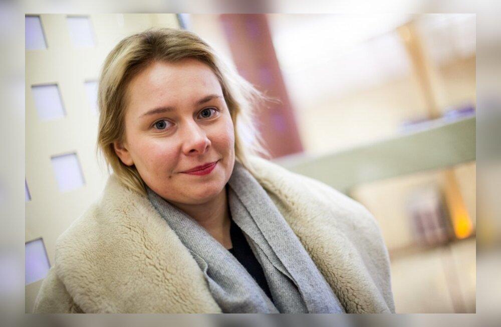 Müürilehe peatoimetaja Helen Tammemäe
