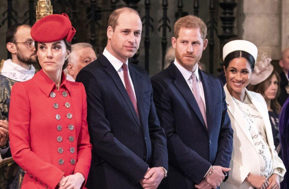 Prints William on venna ja Meghan Markle'i pärast mures: neil on raske periood