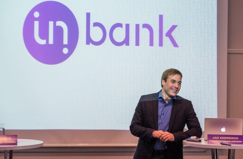 Inbanki neljanda kvartali koondkasum kasvas varasema aastaga võrreldes ligi 17 korda