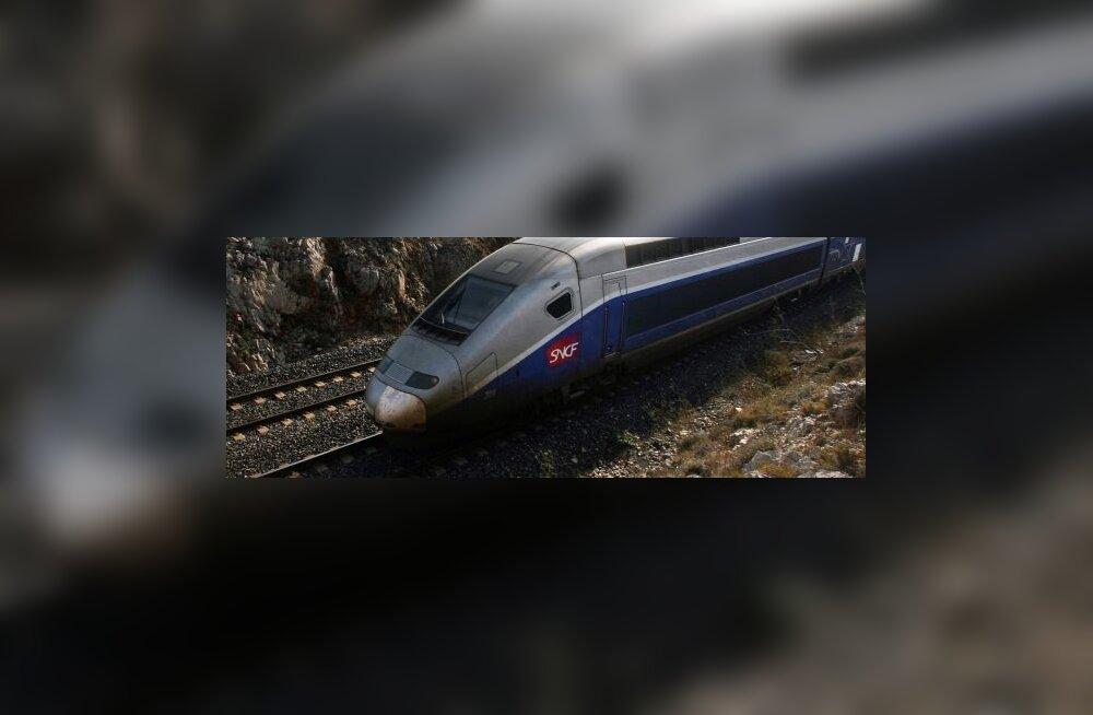 Vahistati Prantsuse raudteed ründavad anarhistid