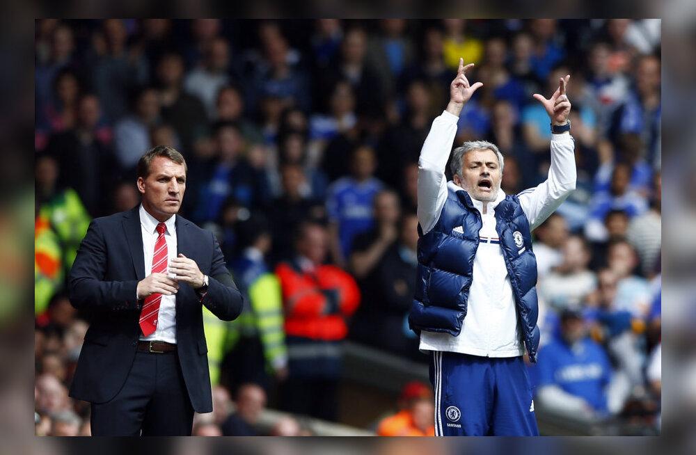 Jose Mourinho ja Brendan Rodgers