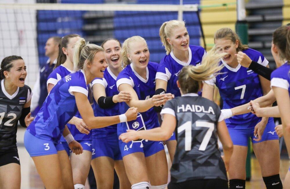 Eesti vs. Šveits kontrollmäng Rakveres