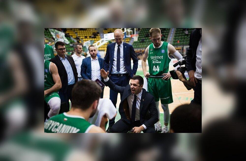 Zielona Gora Stelmeti peatreener Igor Jovovic