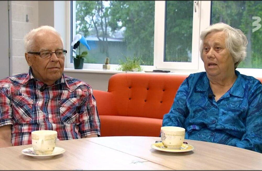 VIDEO | Hooldekodust armastuse leidnud 76-aastane Helgi ja 86-aastane Egon: õnn on ikka oma teha