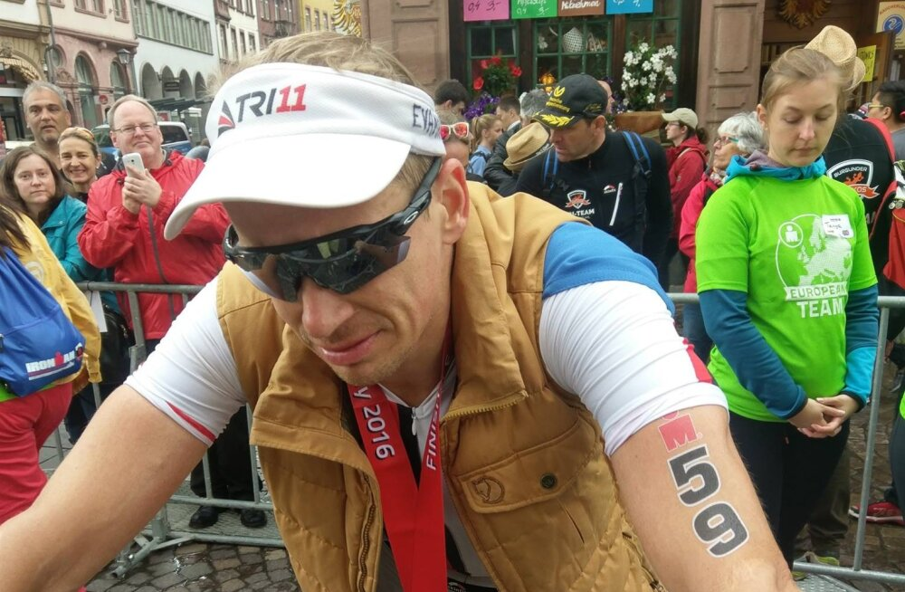 Isiklik rekord andis Marko Albertile Ironmani EM-il seitsmenda koha