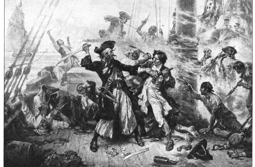 Haiguste ravi piraadilaeval: Musthabe lasi mehi turgutada klistiiri ja elavhõbedaga