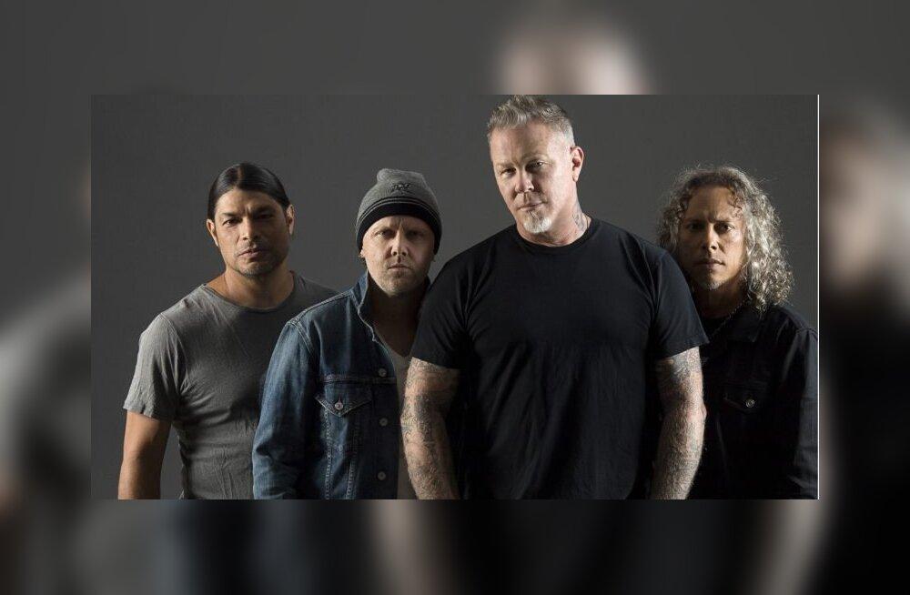 Все о приезде Metallica в Тарту - парковка, расписание, масштаб мероприятия