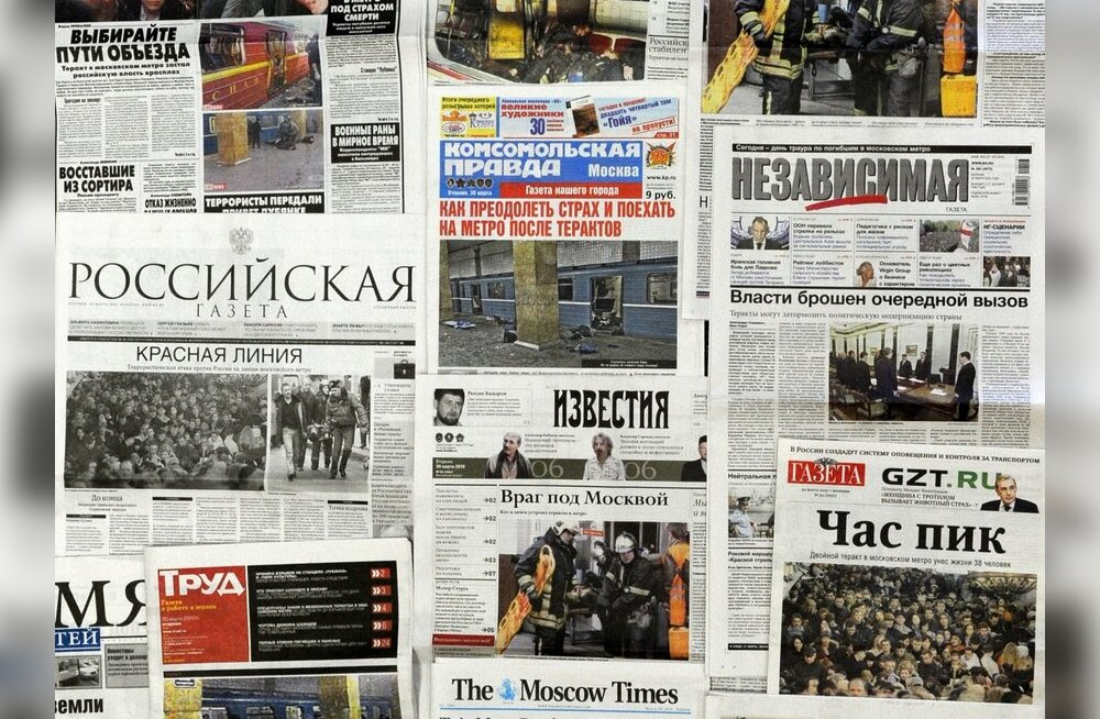 Vene opositsioonipartei ajaleht konfiskeeriti enne kohalikke valimisi