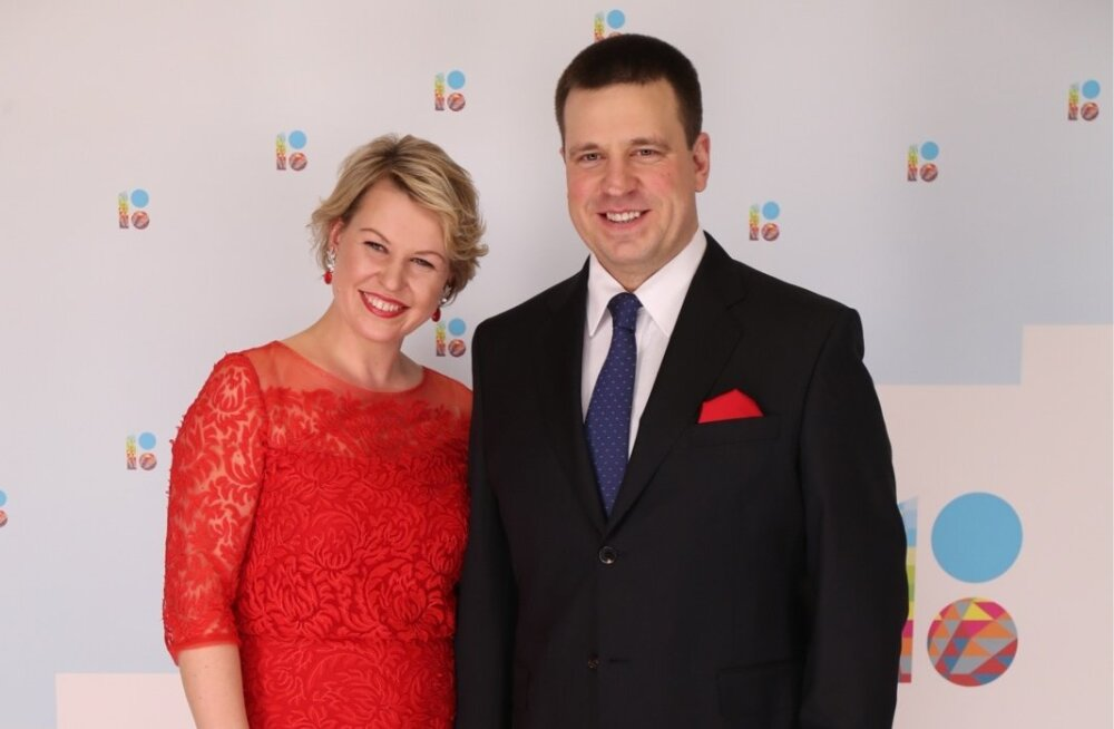 Jüri Ratas ja Karin Ratas