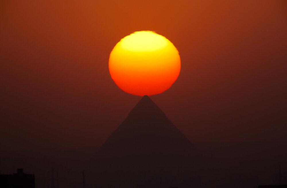 Vana-Egiptuse allakäigu üheks käivitajaks võis olla võimas vulkaanipurse