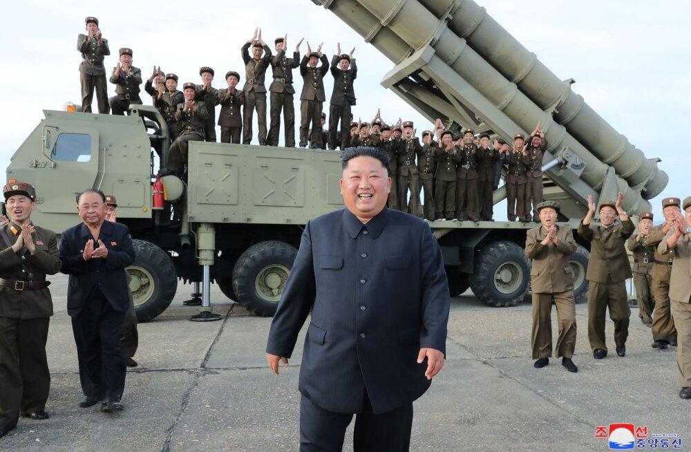 """Põhja-Koreas tugevdati """"kogu korea rahva üksmeelsel tahtel"""" Kim Jong-uni """"monoliitset juhtimist"""""""