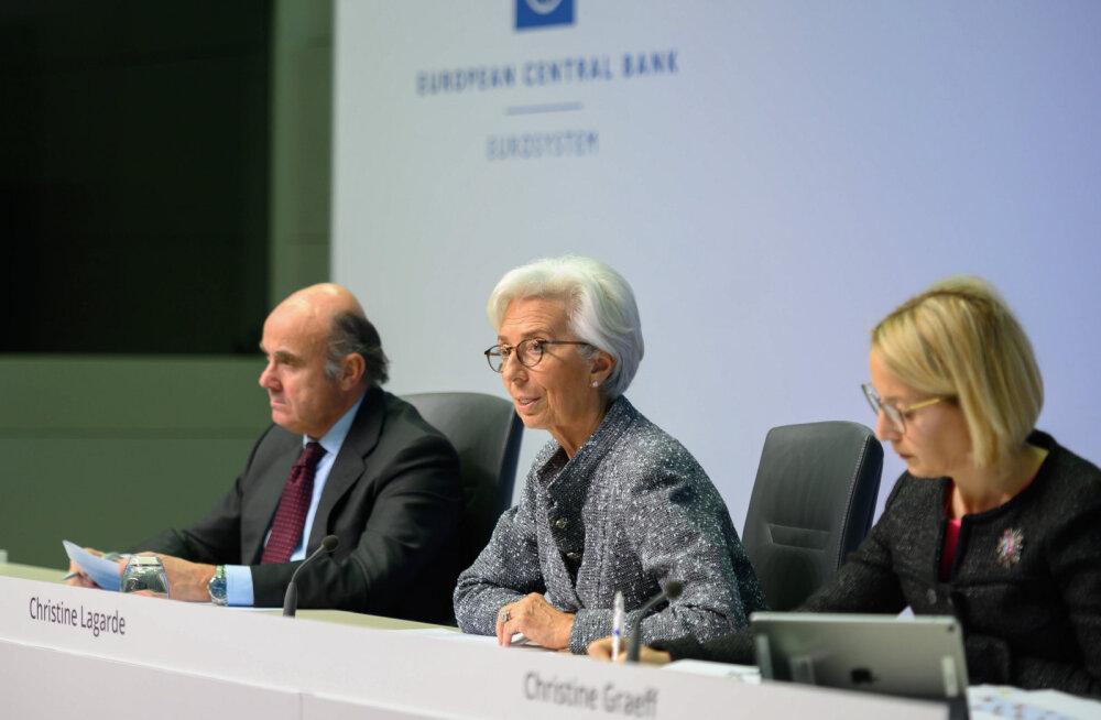Euroopa Keskpank tegi teatavaks 750 miljardi eurose võlakirjade ostu programmi
