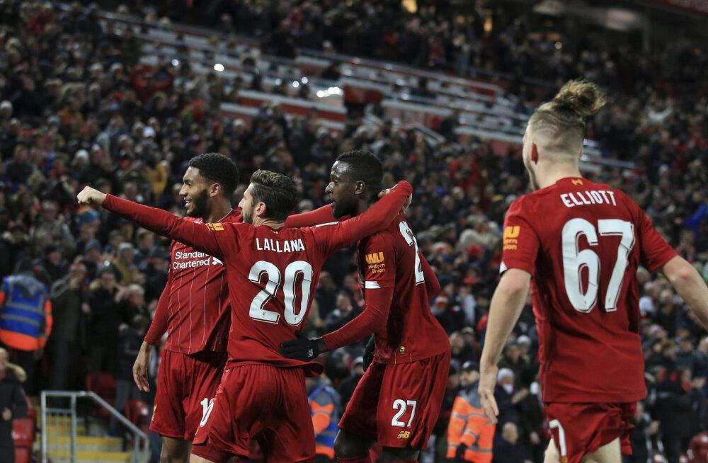 Liverpool juubeldab