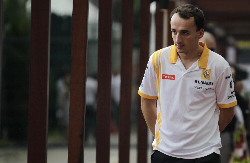 VIDEO | Robert Kubica esimene test Williamsiga oli edukas