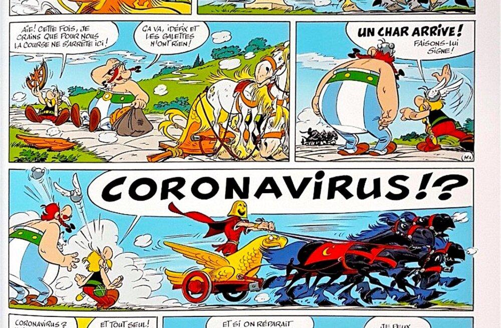 Коронавирус был предсказан еще в 2017 году… в комиксах про Астерикса!