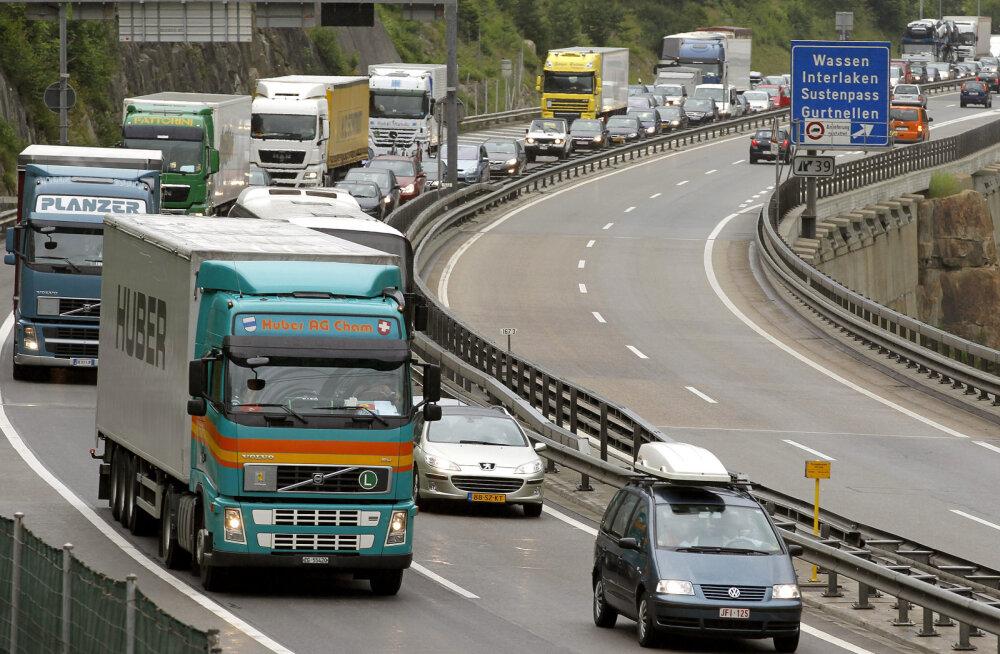 Šveitsis leiutati asfaltkate, mis on võimeline end ise magnetvälja abil parandama