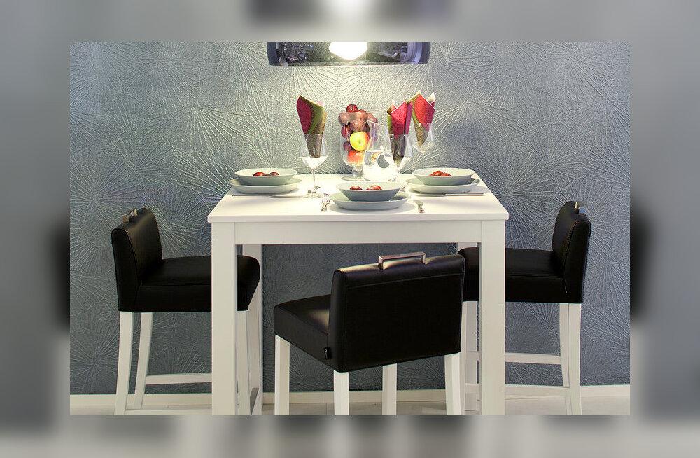 Noorpaarid valivad söögilaua asemel hoopis stiilse baarilaua