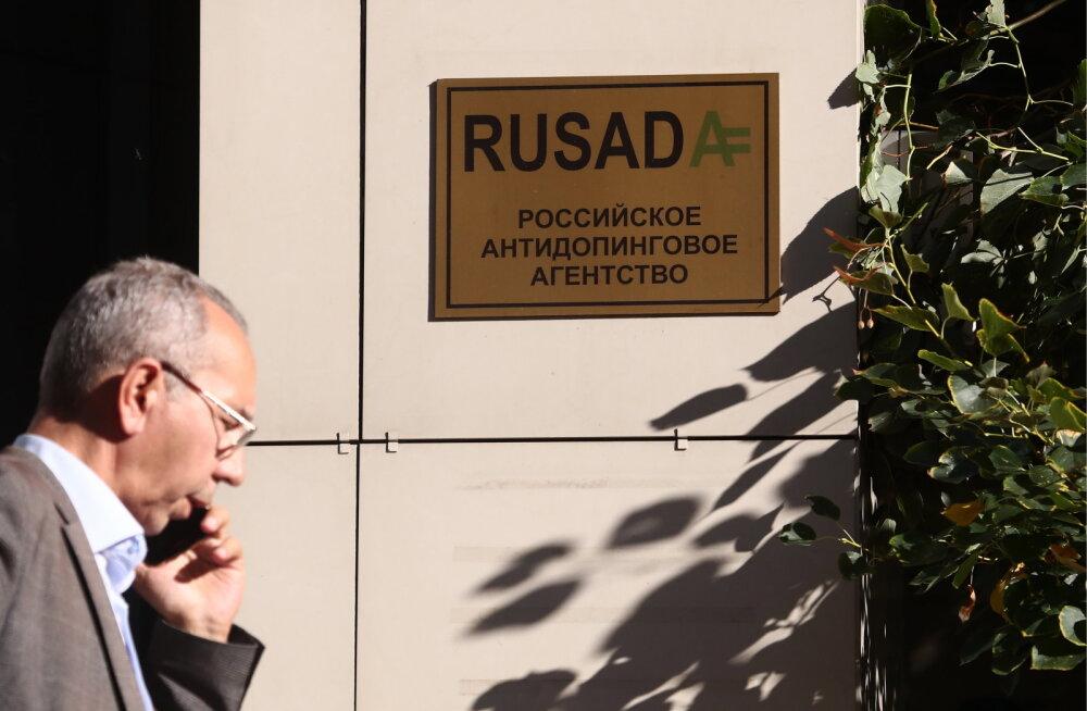 Uskumatu avaldus: Venemaa dopinguagentuur jättis sajast tuhandest dopinguproovist teada andmata