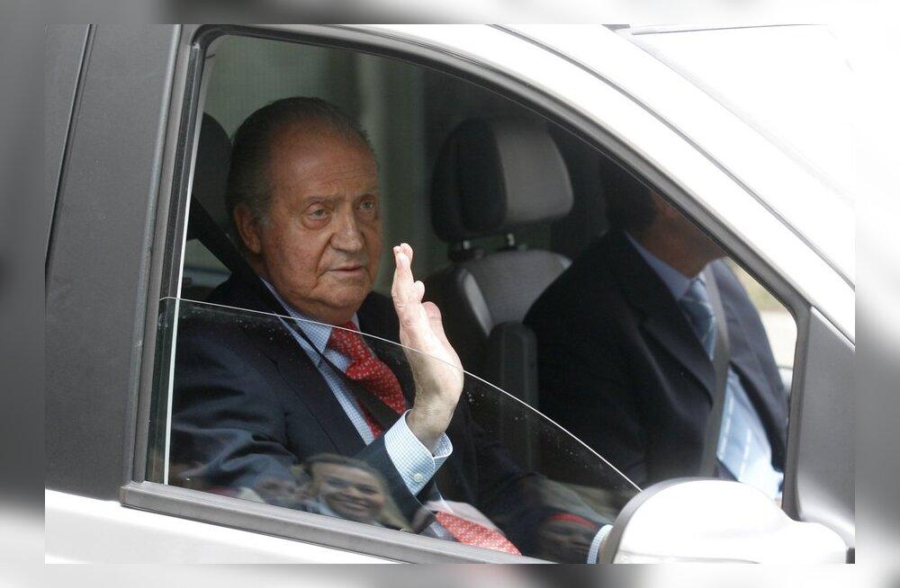 Hispaania kuningas kärbib oma palka