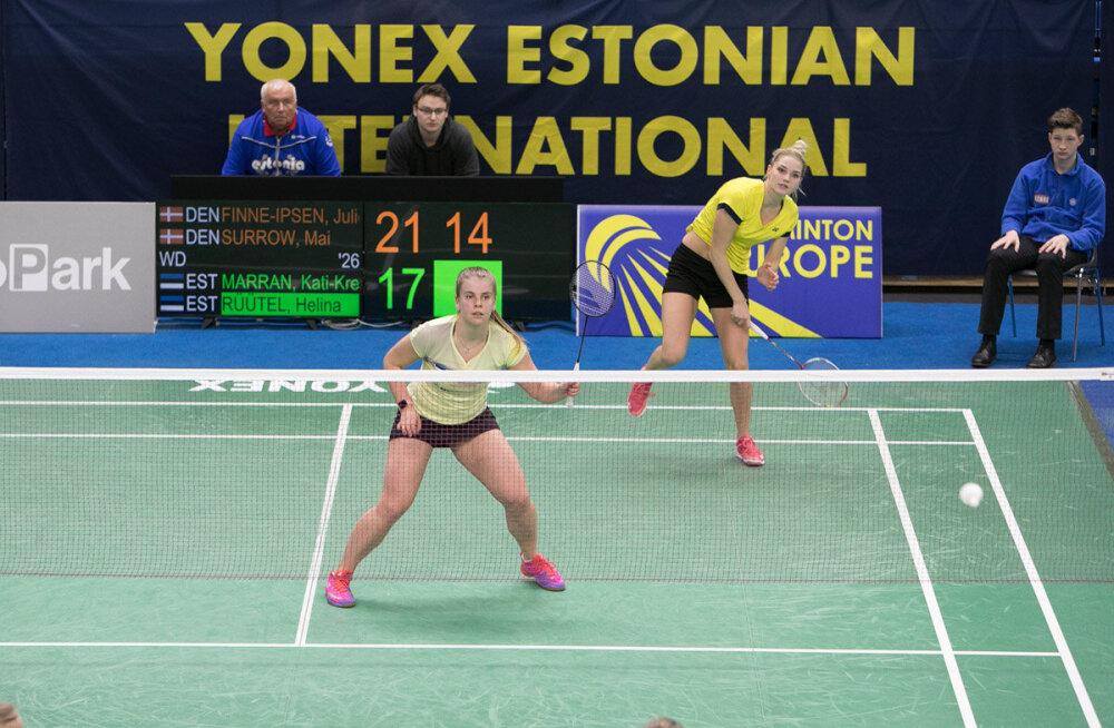Kati-Kreet Marran ja Helina Rüütel jõudsid Euroopa karikaetapil veerandfinaali