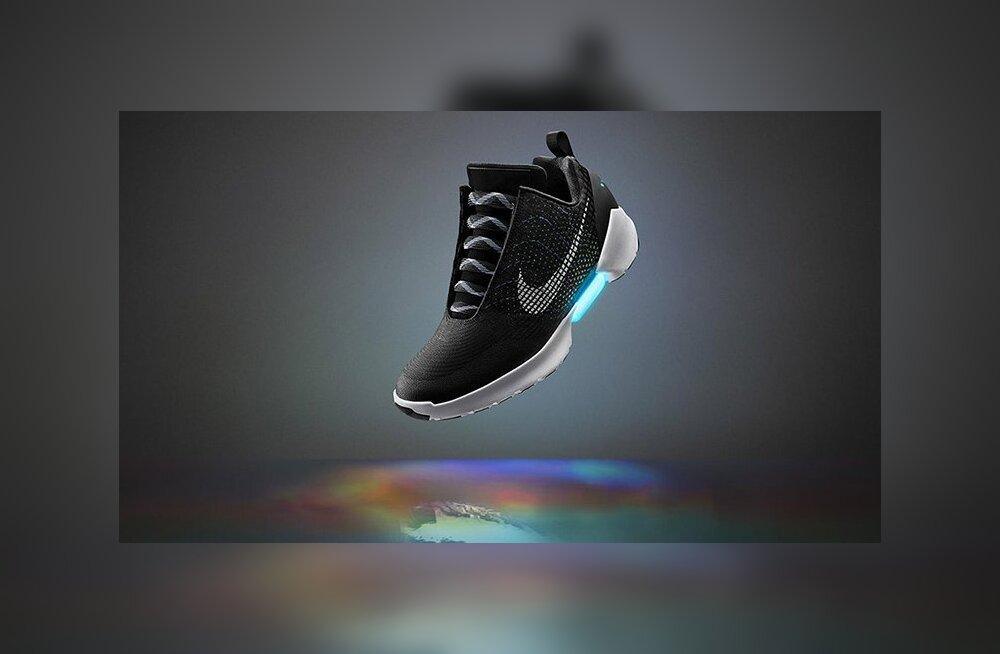 Jala ümber kokku tõmbuvad Nike ulmetossud on nüüd müügil, aga sul ei õnnestu neid ilmselt osta