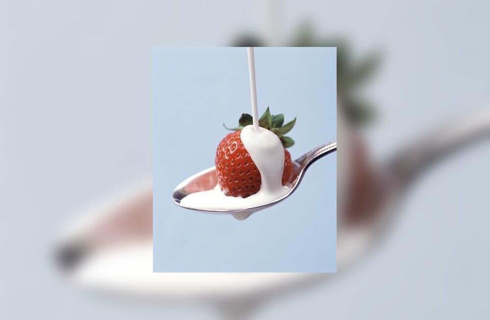 Maasikas koorega