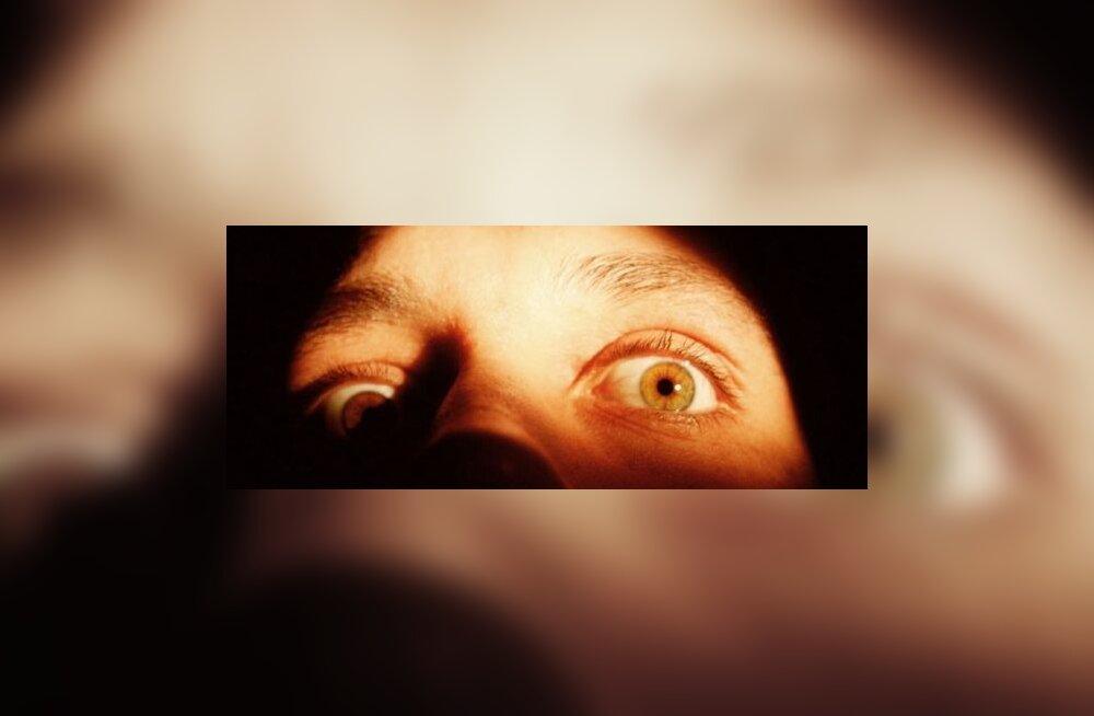 Hirmul on suured silmad? Mõnikord tõesti