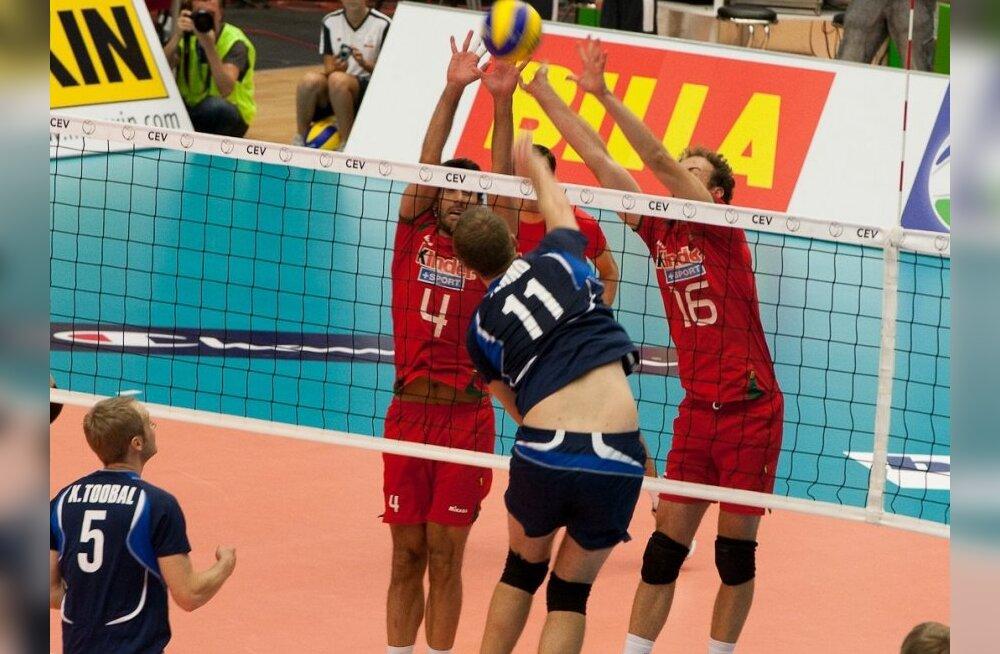 Eesti-Portugal võrkpall