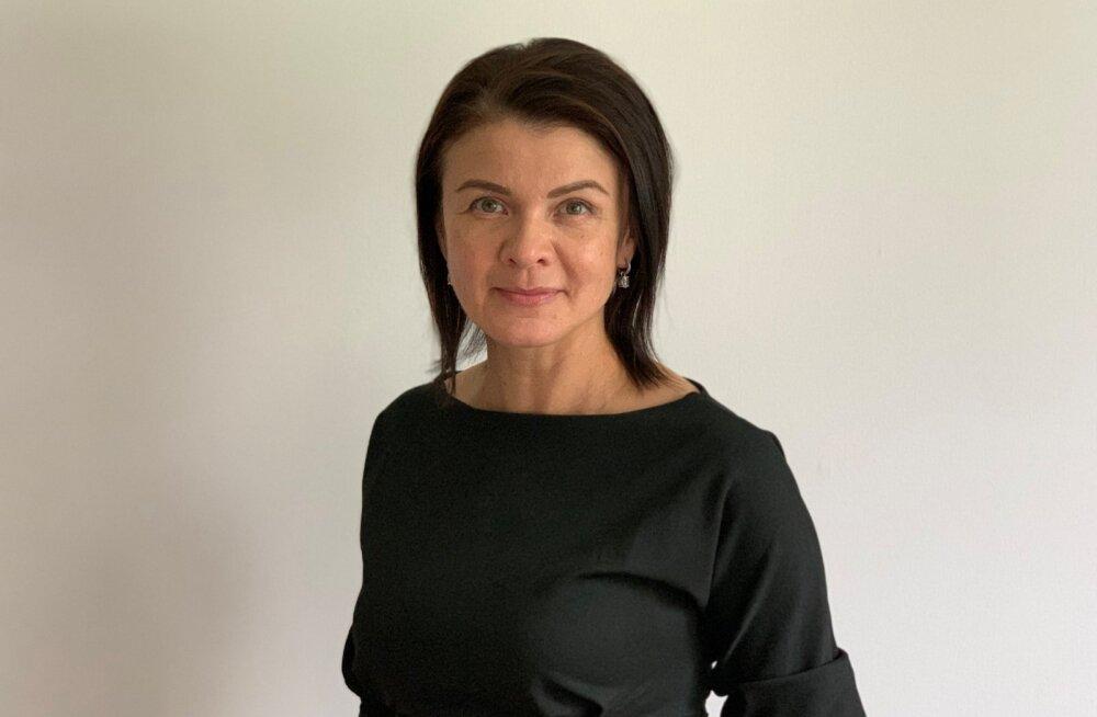 Elisa Pärnu Kaubamajaka esinduse juhataja Svetlana Barinova.