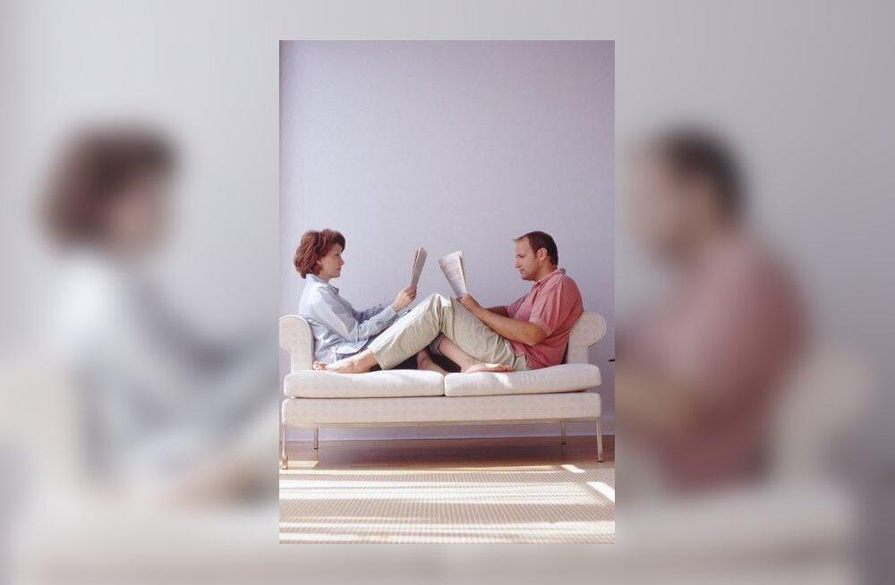 Mees ja naine, mugav paarike