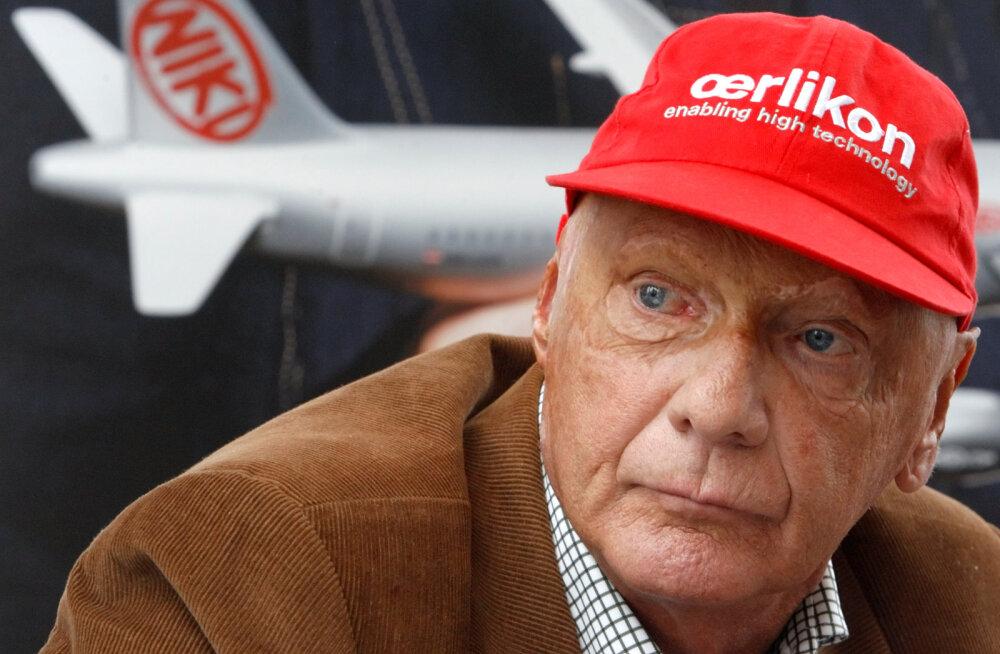 Vormelilegend Niki Lauda pääses haiglast välja