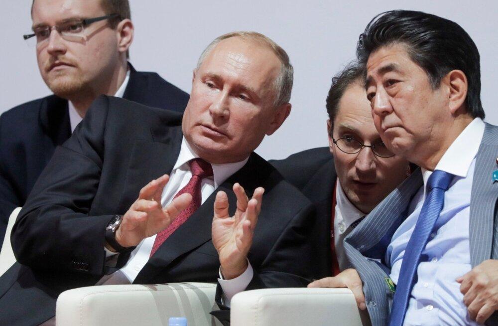 Jaapani peaminister Abe: enne Venemaaga rahulepingu sõlmimist tuleb lahendada vaidlus Kuriili saarte üle
