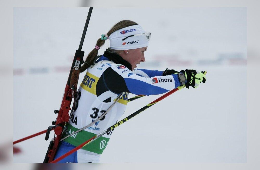 Laskesuusatamise segateate võitis Norra, Eesti viimaste seas