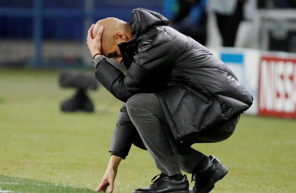 Pep Guardiolal tasub peast haarata, sest tuleviku küsimuses mõtteainet jagub.