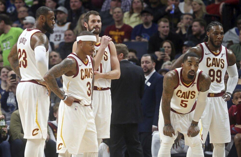 VIDEO   LeBron James tegi karjääri ühe halvema mängu, Cavaliers kaotas suurelt