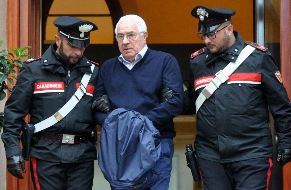 """Üle-euroopalistes haarangutes vahistati 90 mafioosot eesotsas Sitsiilia maffia uue """"ristiisaga"""""""