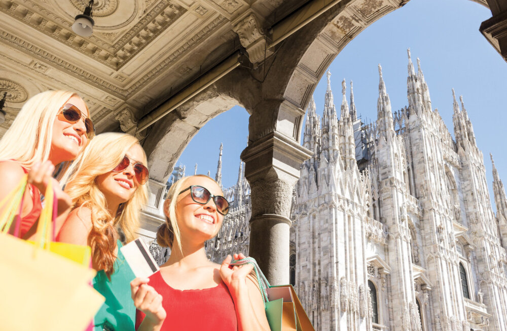 Milano. Linn nagu modellialbum