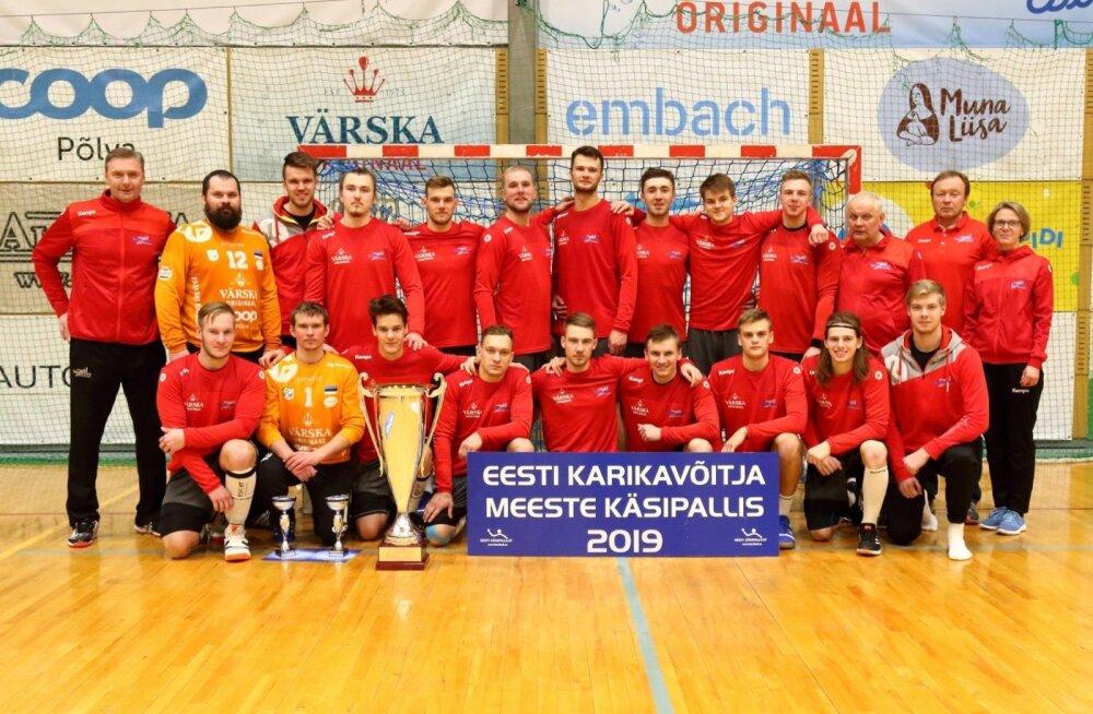 Põlva Serviti – 2019. aasta Eesti karikavõitja.