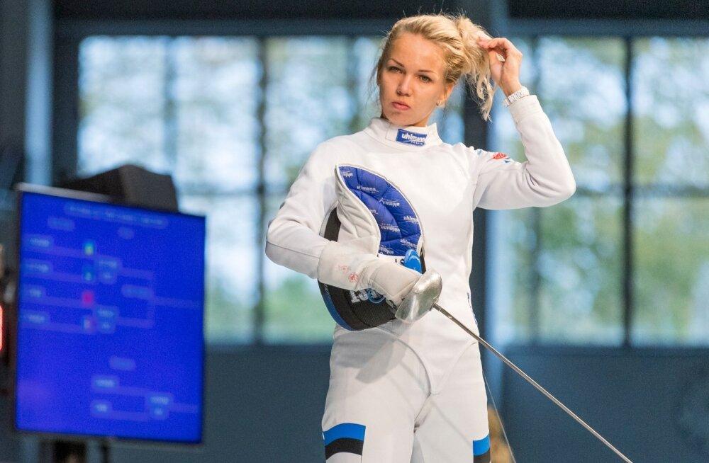 Erika Kirpu murrab end Eesti epeenaiskonda tagasi.