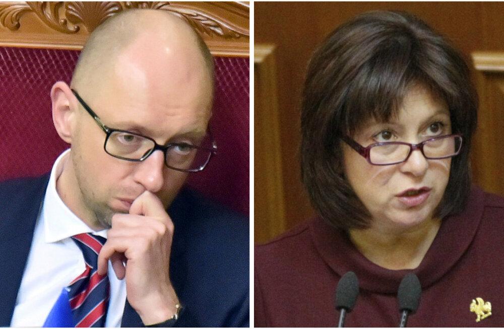 Jatsenjukki veendakse tungivalt lahkuma, Ukraina uueks peaministriks saab ilmselt rahandusminister Jaresko