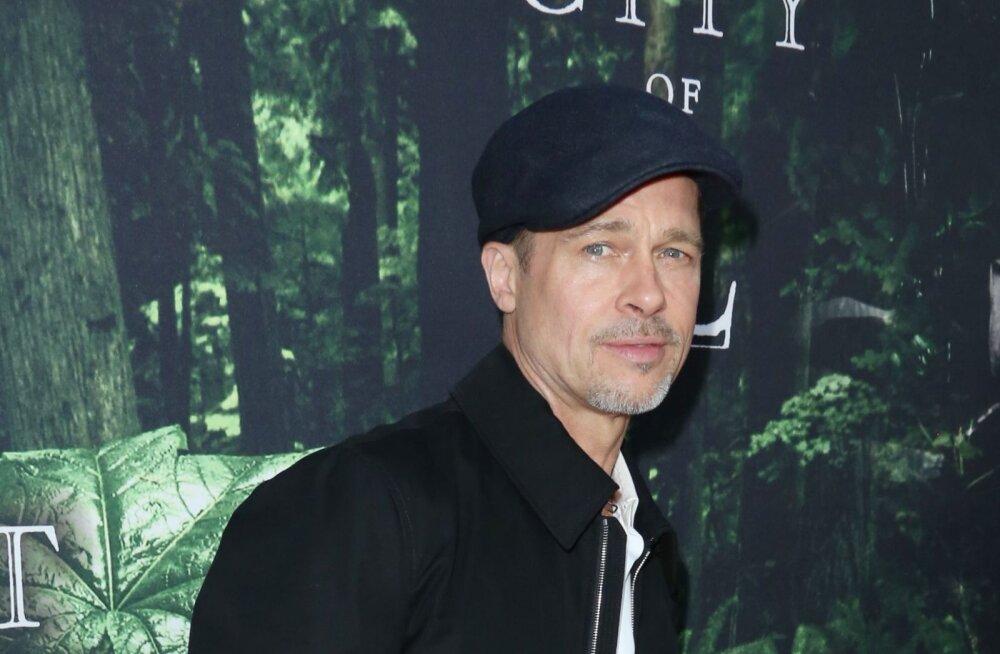 FOTOD: Poissmehe elu mõjub hästi? Angelina Joliest lahutanud Brad Pitt näeb välja kuumem kui kunagi varem