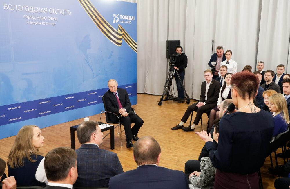 Putini sõnul ei ole põhiseaduseparandused mõeldud tema volituste pikendamiseks