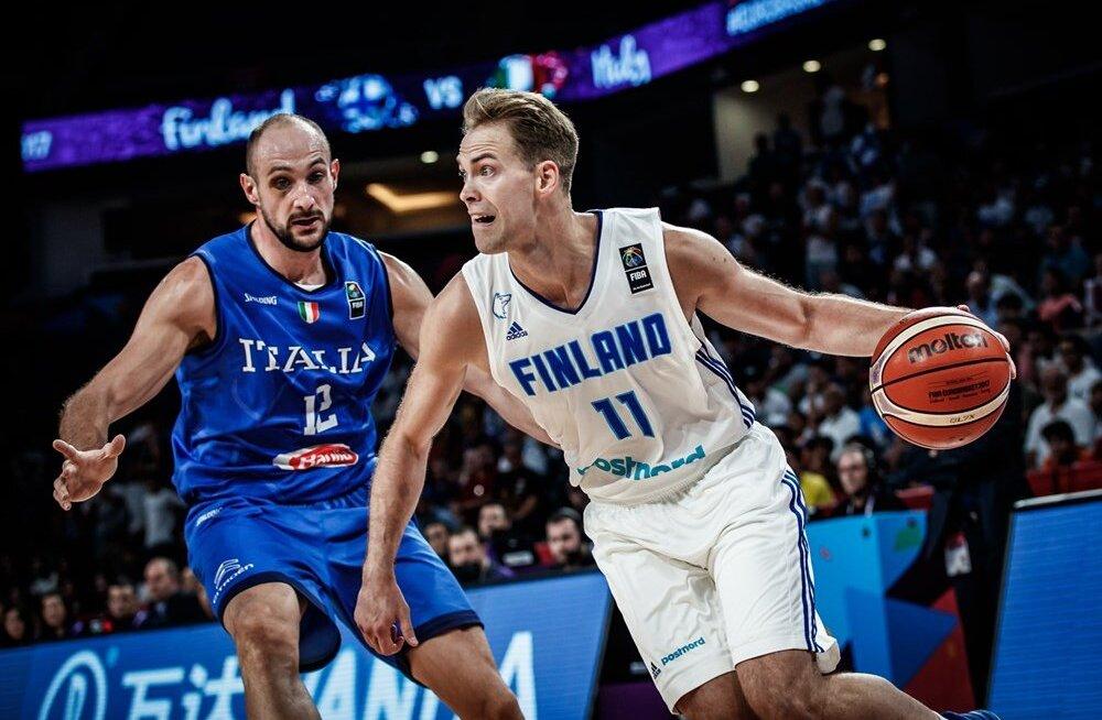 Soome paljutõotav EM-turniir sai kaheksandikfinaalis Itaalia vastu lõpu