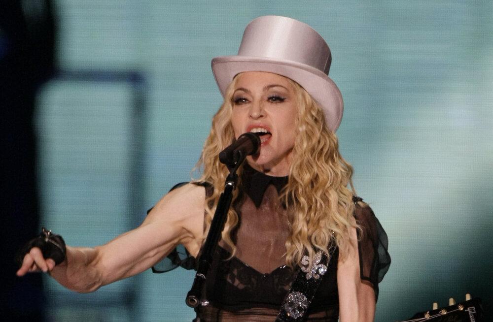 Asi ametlik! Madonna esitab Eurovisioni finaalis oma veel avaldamata singlit